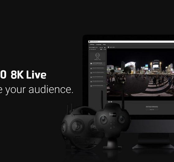 Insta360 8K Live for Insta360 Titan and Insta360 Pro 2