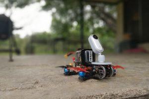 Insta360 Go on an FPV microdrone