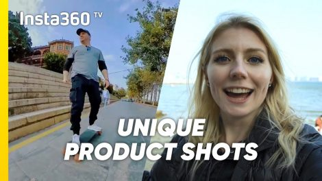 Creative product shots with just one action camera (Insta360 One R techniques)