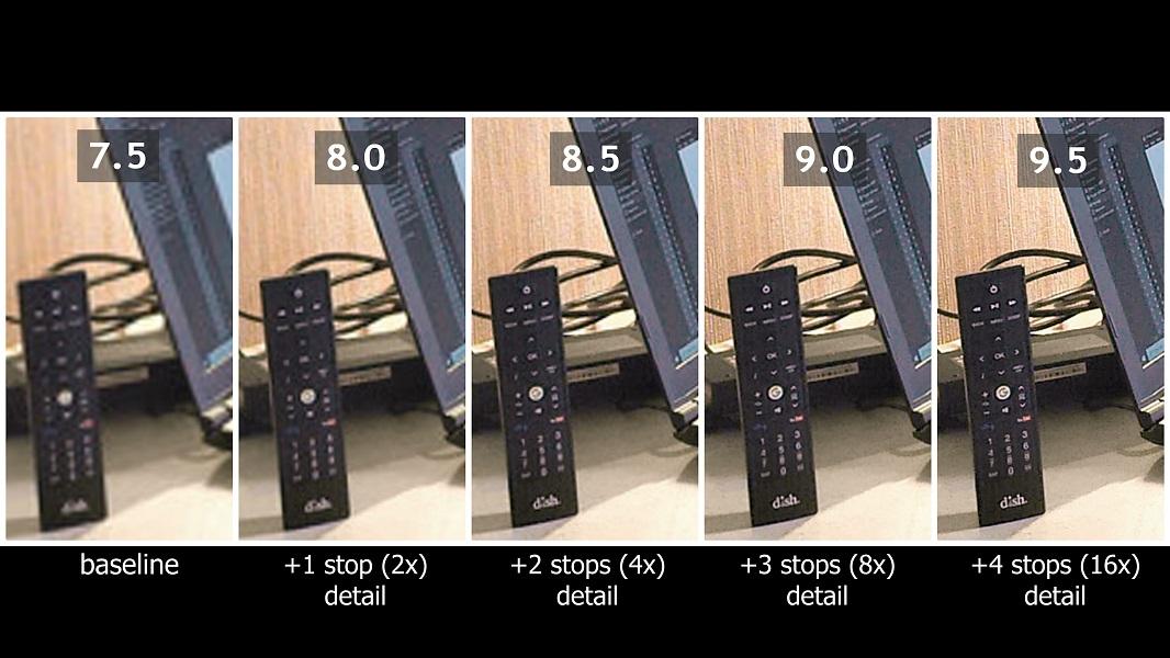 360 camera comparison: detail scale