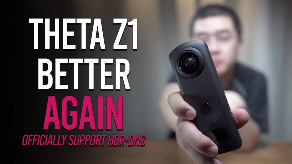 Ricoh Theta Z1 Stitcher adds Dual Fisheye plugin support