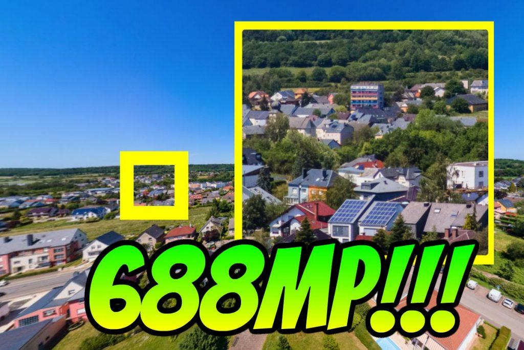 Mavic Air 2 captures 688mp aerial 360 photo