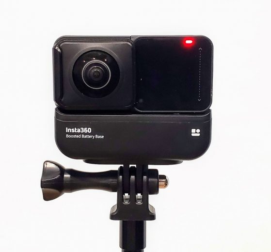 Insta360 One R Boosted Battery Endurance Test