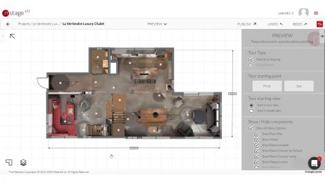 Metareal adds Floorplan bird's eye view to virtual tours