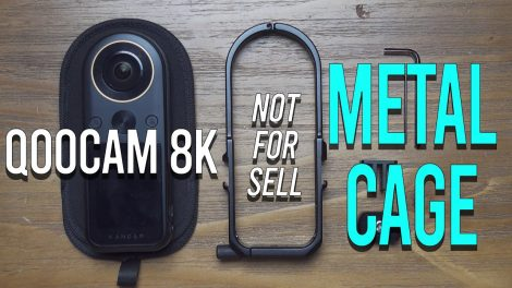 Qoocam 8K cage preview