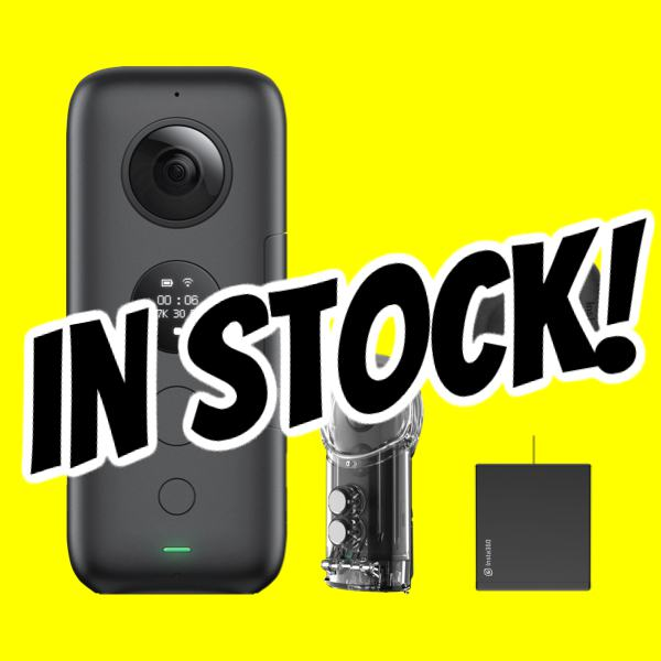 Insta360 One X in stock for final clearance sale