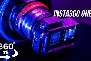 Insta360 One R 1-inch mod 360 video