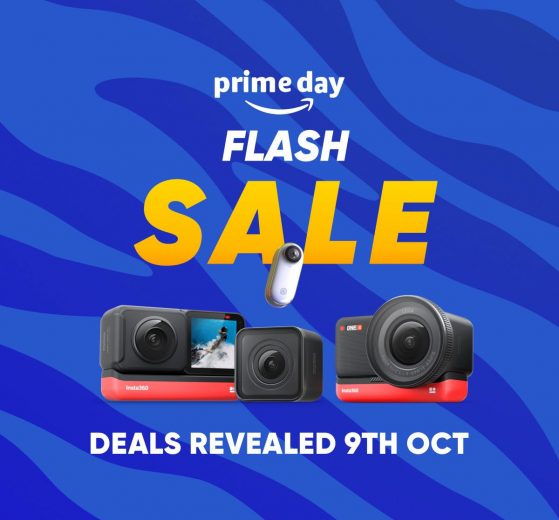 Amazon Prime Day 2020 Insta360 sale