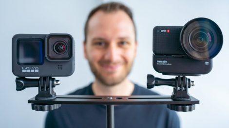 Insta360 One R 1-inch mod vs GoPro Hero 9