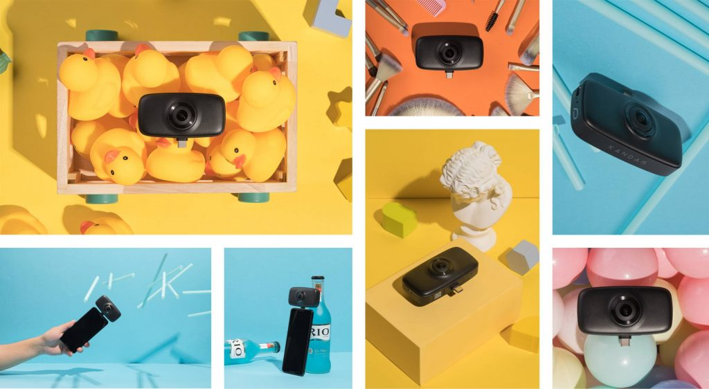 Qoocam FUN is an affordable 360 camera for vlogging