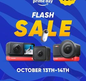 Insta360 discounts on Prime Day