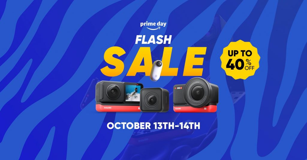 Insta360 discounts on Prime Day 2020