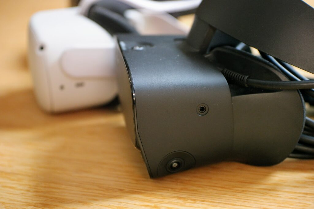 Rift S has a camera on the side that enables better tracking of hand movements on the side