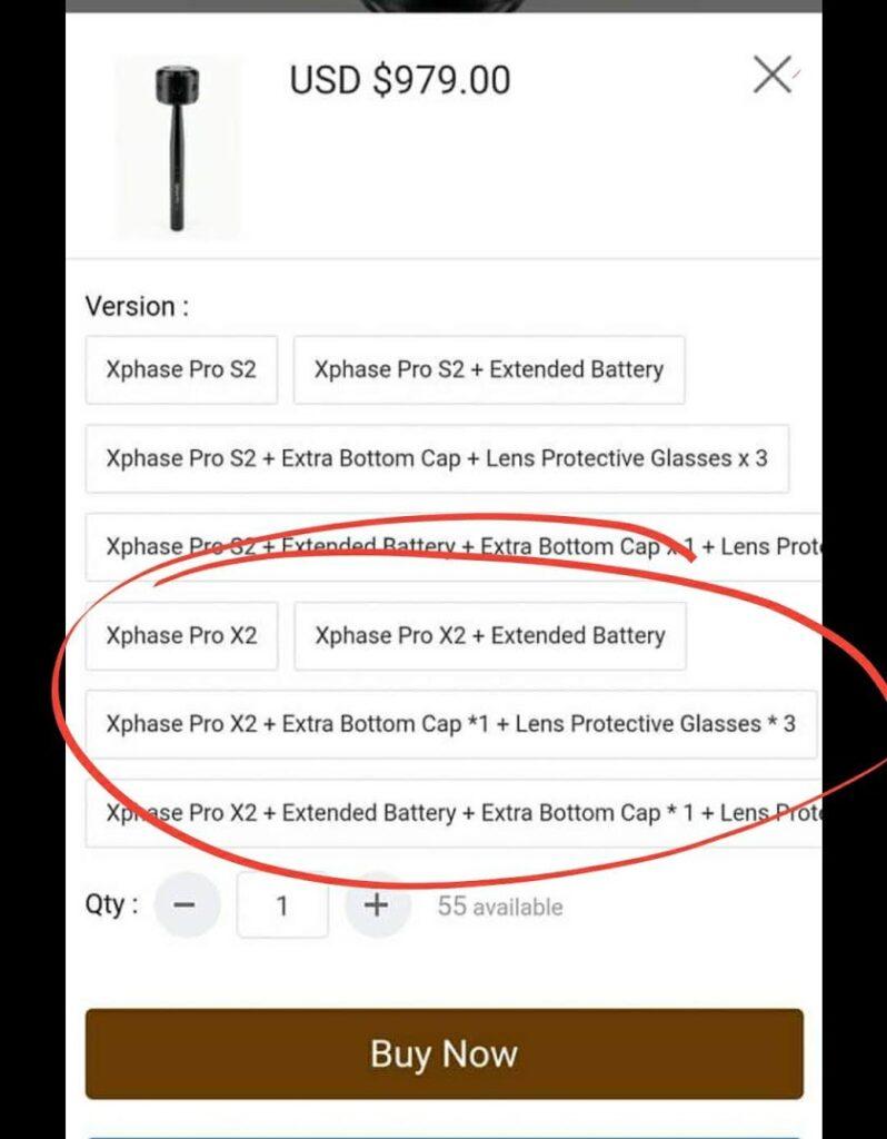 XPhase Pro X2 leaked