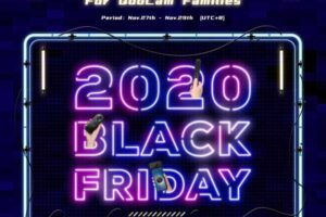 Black Friday 2020 deals for Qoocam 360 cameras