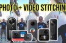 Photo and video stitching quality: Insta360 One X2 vs GoPro MAX vs Insta360 One R vs Qoocam 8K vs Theta Z1