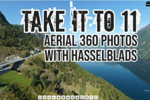 Aerial 360 photos with Hasselblad medium format cameras