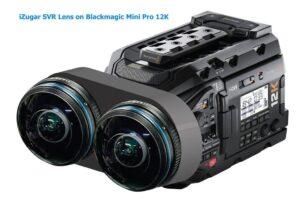 iZugar VR180 lens for RED camera