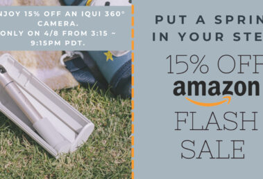 IQUI selfie camera Flash Sale